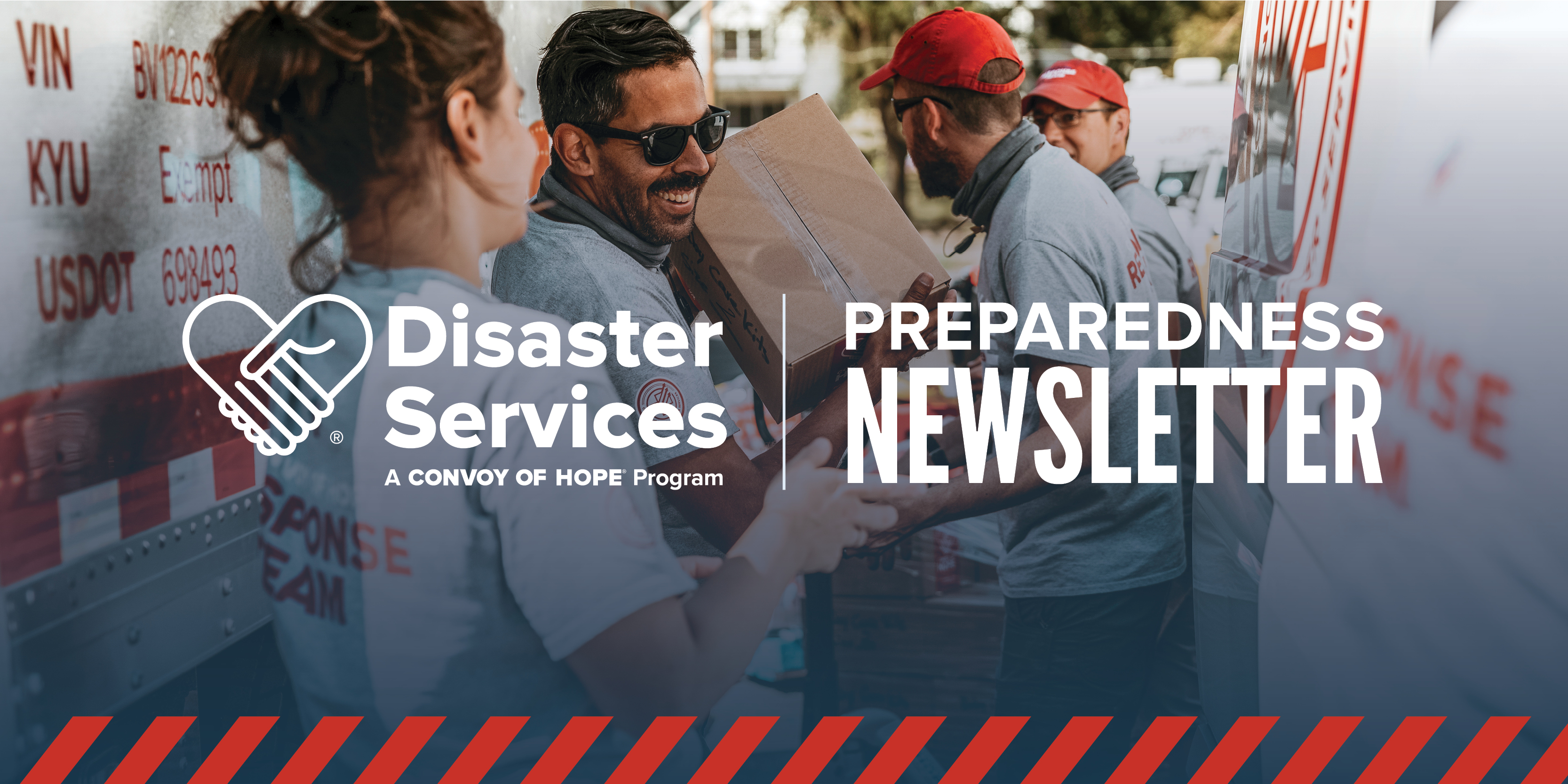 Disaster Services Preparedness Newsletter Header